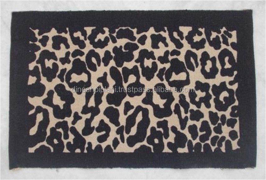wholesale high quality printed jute rugs manufacturer
