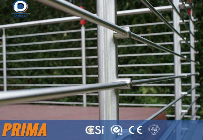 Hot sale flexible modern design tube stainless steel railings