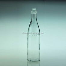SUPER FLINT CLEAR 500ML SODA MINERAL WATER GLASS BOTTLE