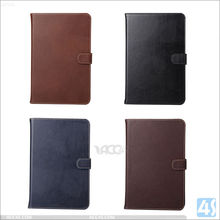 New hot sale best fashion luxury with card slots design leather case for ipad mini 4