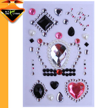 self adhesive rhinestone stickers