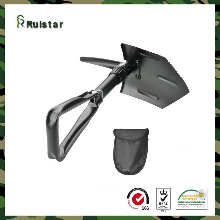 Army foldable garbage construction shovel