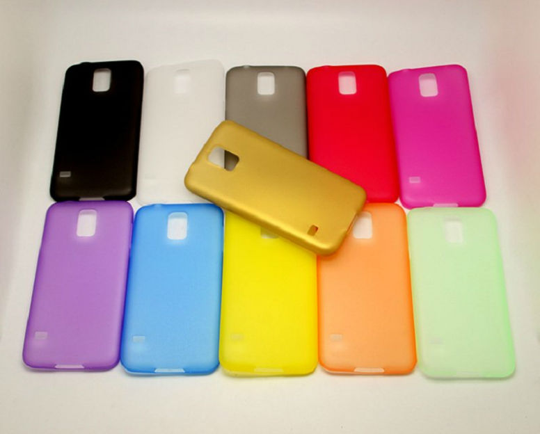 HOT! soft TPU ultra thin 0.3mm case for Samsung Galaxy S5 I9600