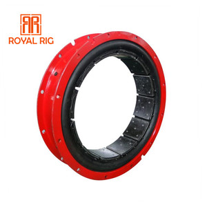 High quality common type pneumatic air tube clutch for oil drilling rig