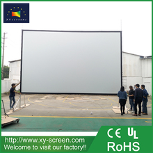 XYSCREEN 300 inch outdoor foldable fast fold projector screen quick fold projection screen