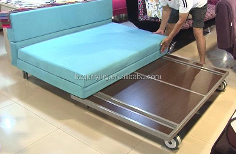 Adjustable flat sofa bed frame