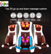 New 3D airbag casada maxiwell car and home seat shiatsu neck and back massage cushion