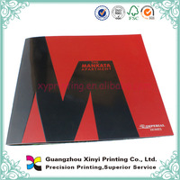 Folded Perfect Binding 2013 Color Stationery Catalogue Printing