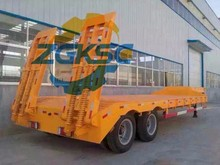 KSC used low bed semi trailer for sale