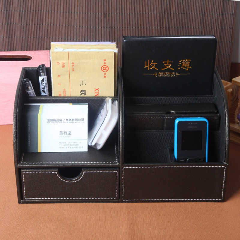 Good PU leather storage box NS-LQ330