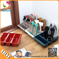 Excellent Quality Low Price Plastic Closed Shoe Rack