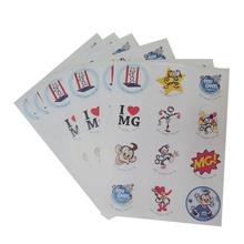 Customised shape printed mini sticker, self adhesive qc pass label, Good Quality Qc Pass Sticker