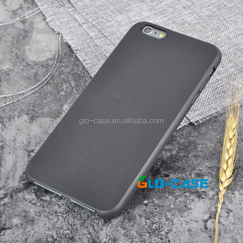 Blank Solid Black Matte Phone Case for iPhone 7