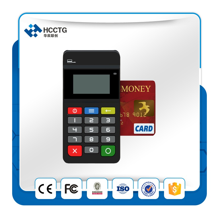 Mobile Point Of Sale Mpos Smart Card Reader Pos Terminal Oem HTY711
