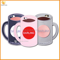 china suppliers custom cup silicone celulares for iphone 6