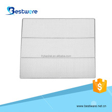 wholesale OEM&ODM food grade 585*585mm stainless steel barbecue bbq grill wire mesh net