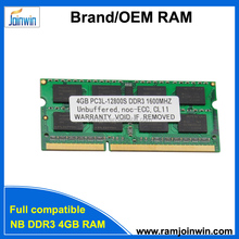 Computer/laptops supplier sodimm 4gb 1600 ddr3 RAM