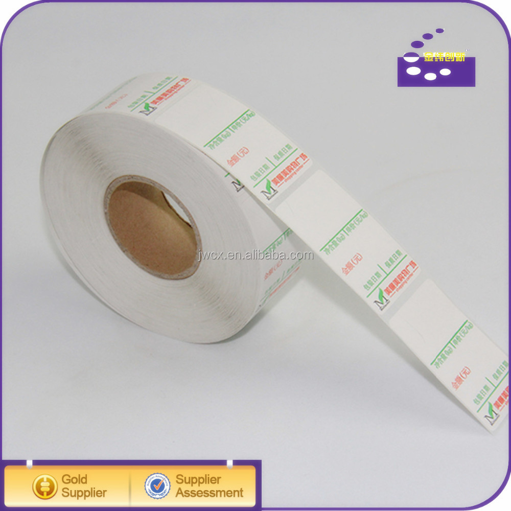 2014 professional custom labels stickers/blank label sticker /temperature and color change sticker label