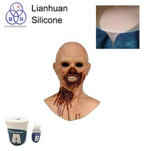 Life casting skin feel rtv-2 silicone rubber for Silicone corpses& Dummies for film