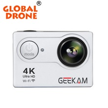 Global Drone 4k Camera HD Go Pro Action Ultra Wifi function Camera 30m Waterproof Screen 4K Sport Camera