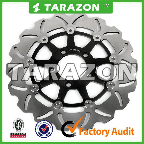 Motorcycle front petal floating brake discs for Kawasaki KLV1000