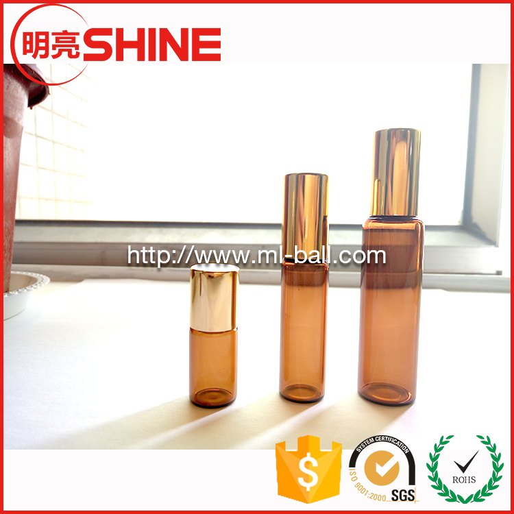 Factory supply roller ball/roll on balls for essential oils bottle