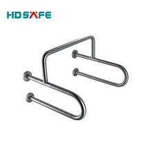 SUS304 grade handicapped design stainless steel toilet grab bar disabled only