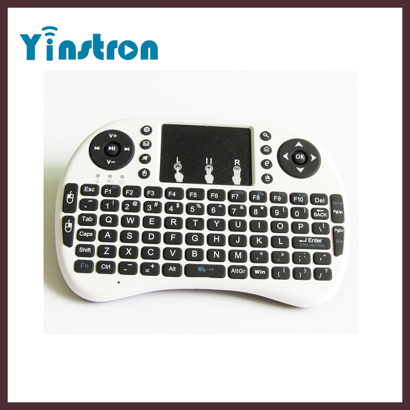 Rii I8 2.4G Mini Wireless receive keyboard With Built-in lithium-ion battery air mouse remote control