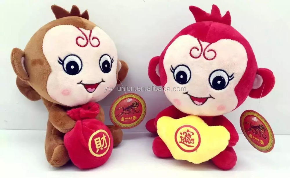toy wholesale plush monkey , kids cheap plastic toy , hottest soft toy products on the market