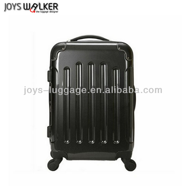 ABS/PC Traditional Black Travel Car Luggage And Bags