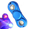 LED Hand Spinner Light Metal Anti