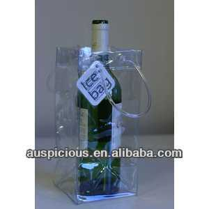 pvc ice bag for cooling wine