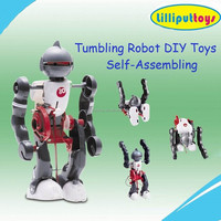 2016 Newest Self-Assembling Robot Kit Electronic Educational DIY Toy