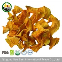 HACCP Certified instant vegetables AD dehydrated pumpkin dried pumpkin