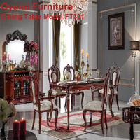 Classic modern italian Deluxe Healthy 8 chairs dining table dining room furniture modern design hot sale table