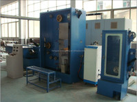 HXE-17DST Medium Copper wire drawing machine with annealing