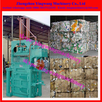 Recycled waste paper /waste carton /cardboard compression machine