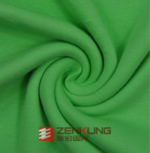 high quality cotton 1*1 french rib fabric with spandex for garments