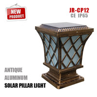 Solar Post Cap Outdoor Pillar Lights Hot Selling Decorative Solar Pillar Lamp solar outdoor pillar light