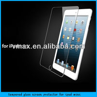 Vmax 8H tempered glass screen protector / tablet accessories for IPad mini (AG)
