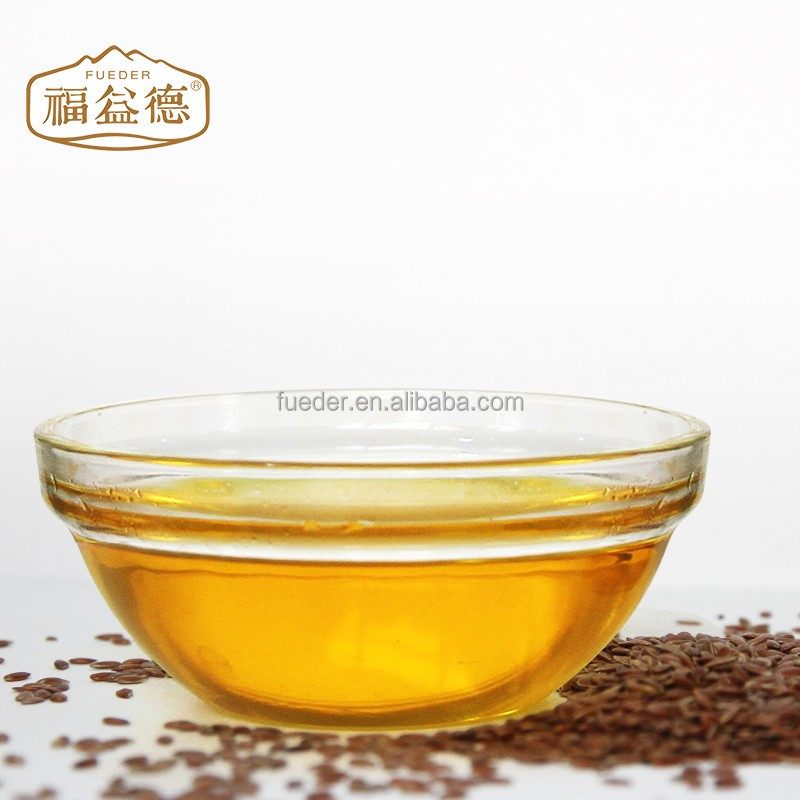 Made in China wholesale Linseed Oil vegetable oil cholesterol free cooking oil