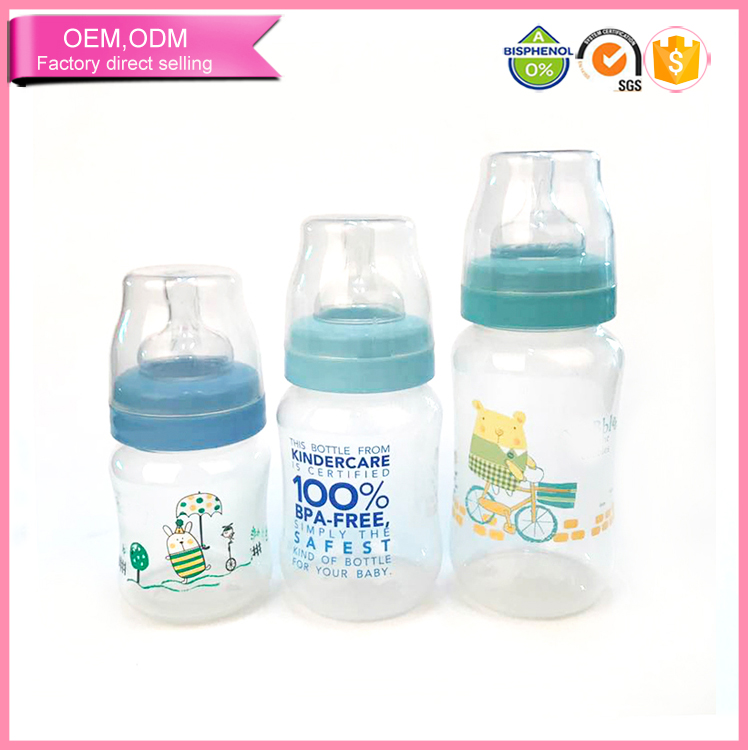 Newborn set baby anti colic milk bottles oem manufacturer