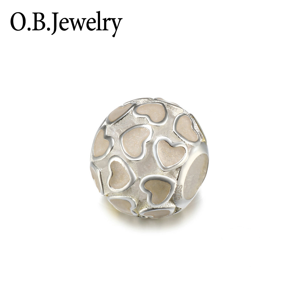 OB Jewelry-Classics Women Jewelry S925 Sterling Silver DIY Beads Safety Chain For DIY Pandora Bracelet