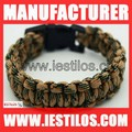 plastic buckle military grade paracord survival bracelet