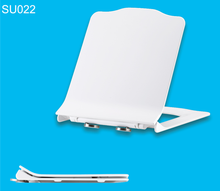 Pure White Closed Front Soft Close Special Toilet Seat Covers