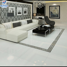 new model 24x24 solid rialto white color porcelain kajaria vitrified double charge flooring tiles building material in Sri Lanka