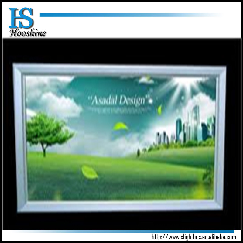 outdoor acrylic menu stand led magnetic light box