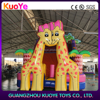 inflatable slide giant inflatable slide for sale giraffe inflatable slide