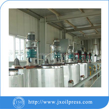 Fish oil refining process for cooking