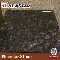 Discount black tan brown granite for kitchen wall tiles